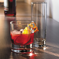 Old Fashioned & Whisky Glasses Image
