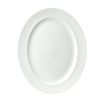 Whiteware Plate Oval 36.5cm