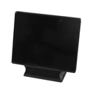 Black Melamine Ticket Stand 10cm